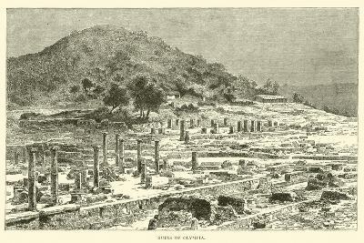 Ruins of Olympia--Giclee Print