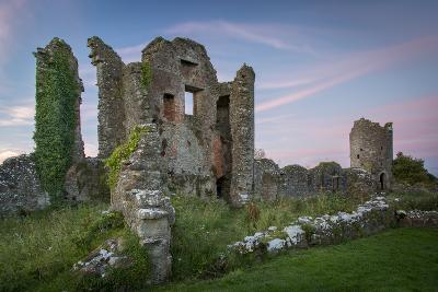 Ruins of Original Crom Castle, County Fermanagh, Northern Ireland, Uk-Brian Jannsen-Photographic Print