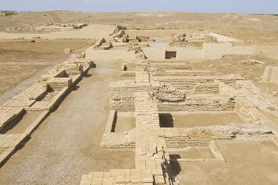 Ruins of Otrar (Utrar or Farab) Central Asian Ghost Town, South Kazakhstan Province, Kazakhstan.-Dmitry Chulov-Photographic Print