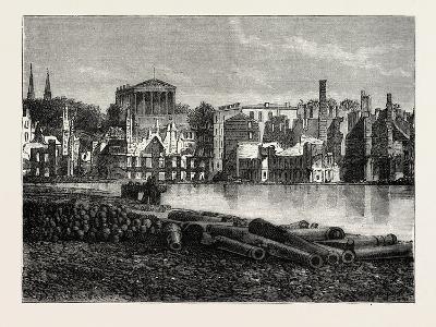 Ruins of Richmond after the War, American Civil War, USA, 1870S--Giclee Print