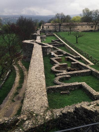 Ruins of Roman Houses, Ancient Roman City of Saepinum, Sepino, Molise, Italy--Giclee Print