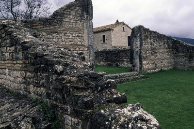 Ruins of Roman Houses, Ancient Roman City of Saepinum, Sepino, Molise, Italy--Giclee Print