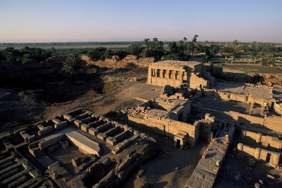 Ruins of Roman Mammisi, Temple of Hathor, Dendera, Egypt--Giclee Print