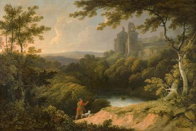 Ruins of Rosslyn Castle, Midlothian, 1810-George Arnald-Giclee Print