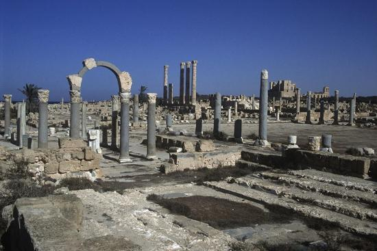 Ruins of Sabratha--Giclee Print