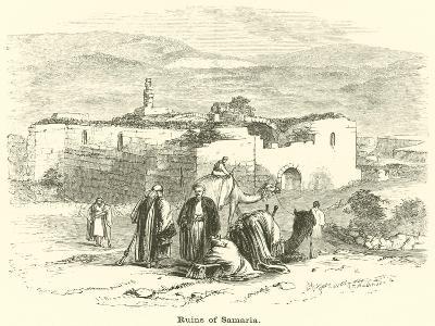 Ruins of Samaria--Giclee Print