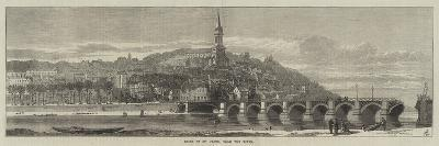 Ruins of St Cloud, from the River--Giclee Print