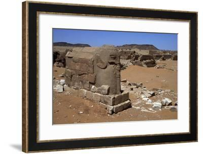Ruins of Temple of Elephant--Framed Giclee Print