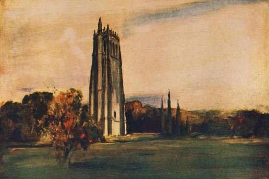 'Ruins of the Abbey of Bec, Normandy', 1912-Unknown-Giclee Print