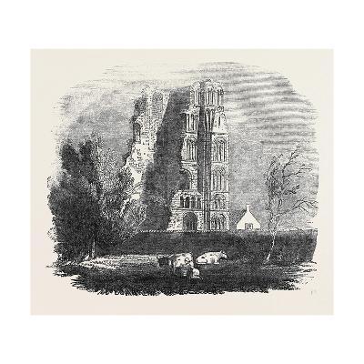 Ruins of the Augustine Monastery, Canterbury--Giclee Print