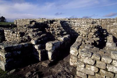 Ruins of the Barns, Housesteads Roman Fort, Hadrian's Wall--Photographic Print