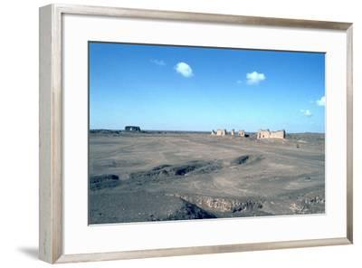 Ruins of the Caliphs Palace, Samarra, Iraq, 1977-Vivienne Sharp-Framed Photographic Print