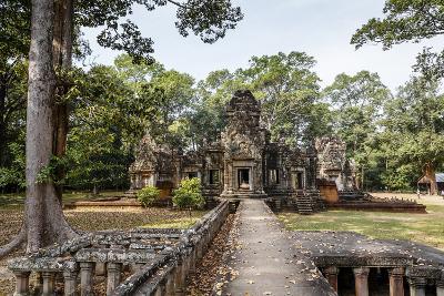 Ruins of the Chau Say Tevoda Temple, Angkor, UNESCO World Heritage Site, Cambodia, Indochina-Yadid Levy-Photographic Print