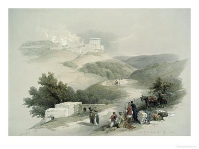 Ruins of the Church of St. John, Sabaste-David Roberts-Giclee Print