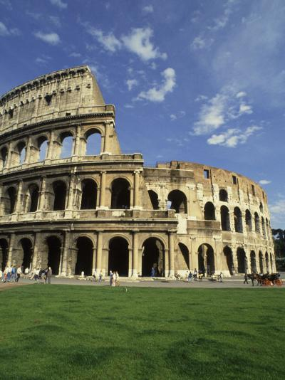Ruins of the Coliseum, Rome, Italy-Bill Bachmann-Photographic Print