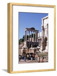 Ruins of the Forum and Temple of Saturn, Rome