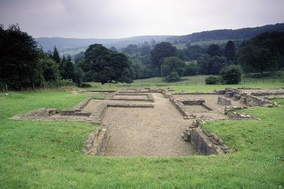 Ruins of the Great Witcombe Roman Villa, Gloucestershire, England, United Kingdom--Giclee Print