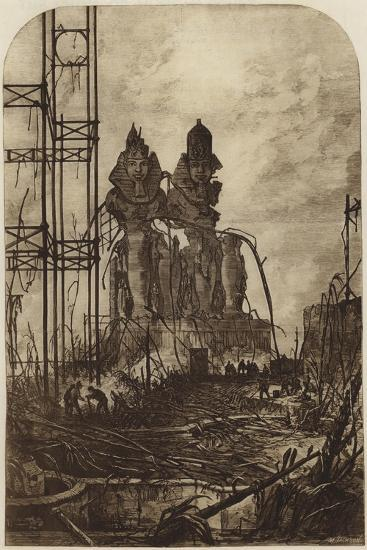 Ruins of the North Transept Destroyed by Fire, 1867--Giclee Print