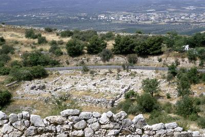 Ruins of the Prehistoric Greek City of Mycenae--Photographic Print