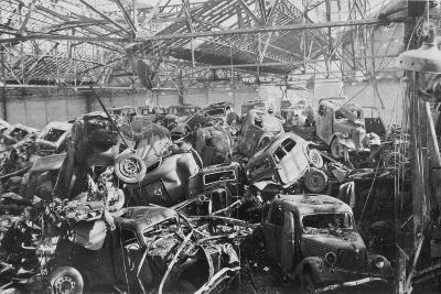 Ruins of the Renault Factory, Boulogne-Billancourt, Paris, C1942--Giclee Print