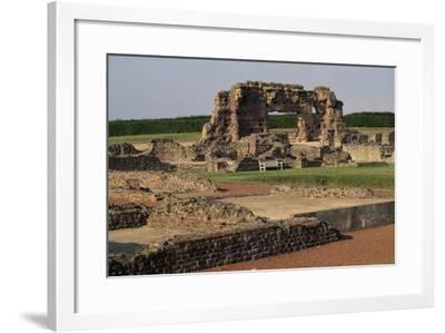 Ruins of the Roman City Viroconium Cornoviorum at Wroxeter, Shropshire, England, United Kingdom--Framed Giclee Print