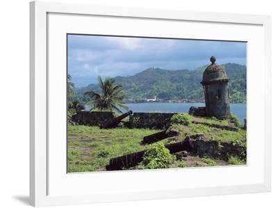 Ruins of the Spanish Fortifications of Portobello (Unesco World Heritage List, 1980), Colon, Panama--Framed Photographic Print