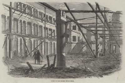 Ruins of the Surrey Music Hall--Giclee Print