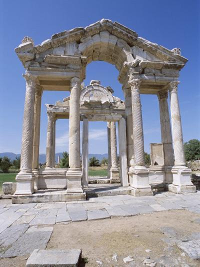 Ruins of the Temple of Aphrodite, Archaeological Site, Aphrodisias, Anatolia, Turkey-R H Productions-Photographic Print
