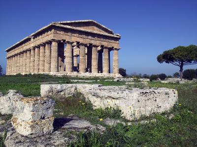 Ruins of the Temple of Neptune-Marco Cristofori-Photographic Print