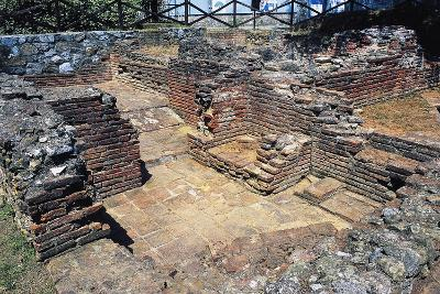 Ruins of Thermal Baths, Massaciuccoli, Tuscany, Italy AD--Giclee Print