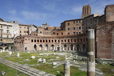 Ruins of Trajan's Market, Trajan Forum (Foro Traiano), Rome, Lazio, Italy-Stuart Black-Photographic Print