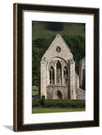 Ruins of Valle Crucis Cistercian Abbey, Founded in 1201, Llangollen, Wales, United Kingdom--Framed Photographic Print