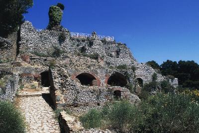 Ruins of Villa Jovis, Capri, Campania, Italy--Giclee Print