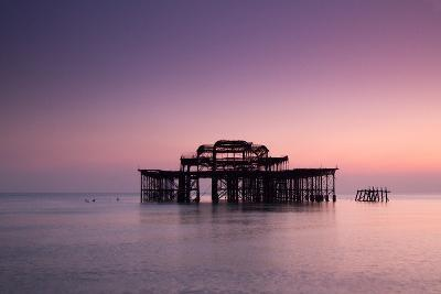 Ruins of West Pier.-Lucie Averill-Photographic Print