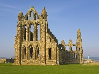 Ruins of Whitby Abbey in North Yorkshire-Paul Thompson-Photographic Print