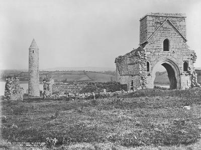 Ruins on Devenish Island, Lough Erne, Ireland, C.1890-Robert French-Giclee Print