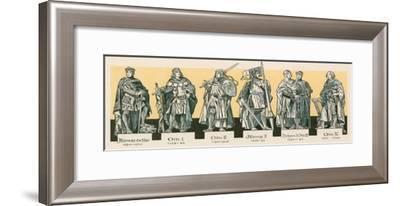 Rulers of Brandenburg--Framed Giclee Print