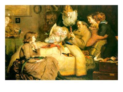 Ruling Passion-John Everett Millais-Art Print