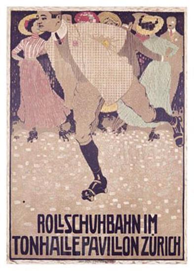 Rullschuhbahn-Burkhard Mangold-Giclee Print