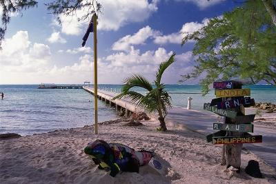 Rum Point View Grand Cayman Island-George Oze-Photographic Print