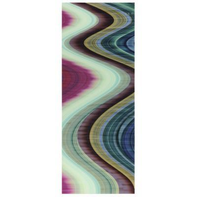 Rumba Abstract 1 - Free Floating Tempered Glass Panel Graphic Wall Art