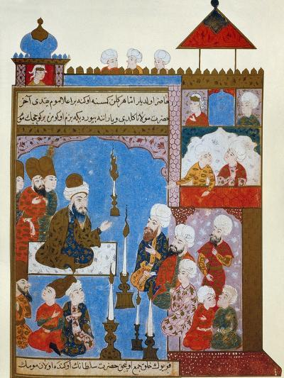 Rumi's Candle is Still Lit, late 16th century--Giclee Print