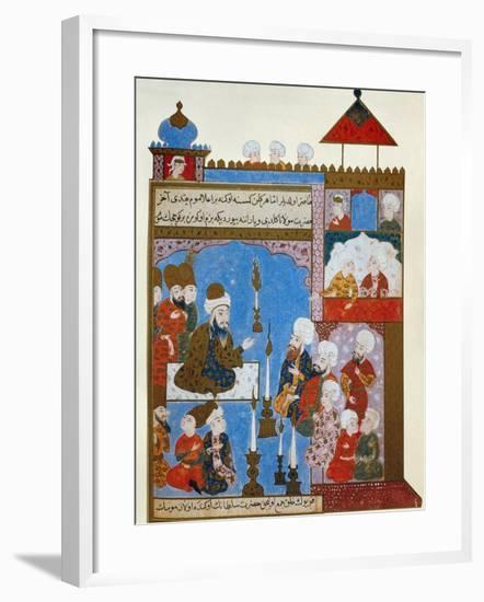 Rumi's Candle is Still Lit, late 16th century--Framed Giclee Print