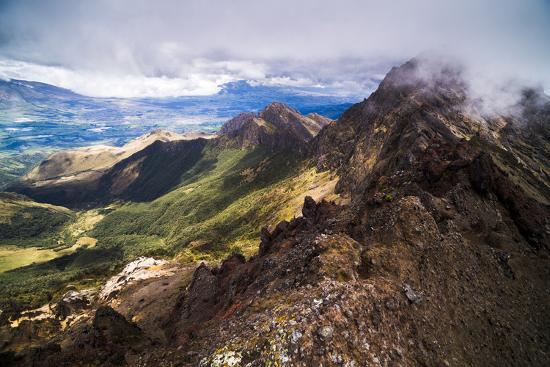 Ruminahui Volcano Summit, Cotopaxi National Park, Avenue of Volcanoes, Ecuador, South America-Matthew Williams-Ellis-Photographic Print