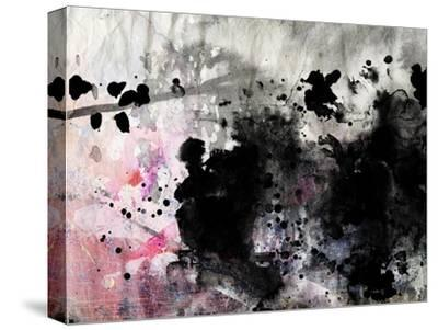 Abstract Black And White Ink Painting On Grunge Paper Texture - Artistic Stylish Background by run4it