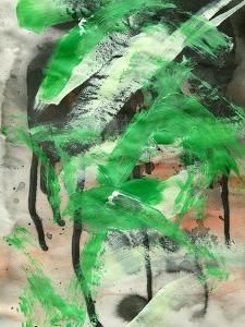 Abstract Painting Background With Expressive Brush Strokes by run4it