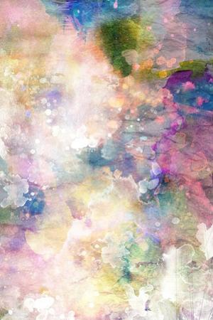 Grunge Painting Background, Colorful Illustration by run4it