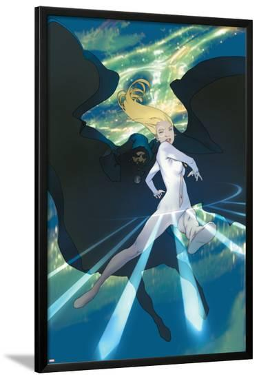 Runaways No.11 Cover: Cloak and Dagger-Takeshi Miyazawa-Lamina Framed Poster