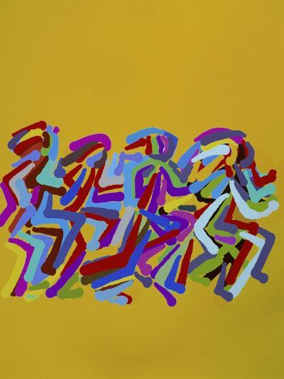 Runners II-Diana Ong-Giclee Print