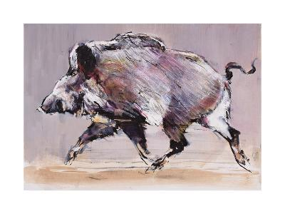 Running Boar, 1999-Mark Adlington-Giclee Print